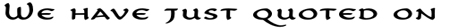 Carlin Script SC sample