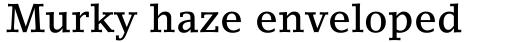 LinoLetter Medium sample