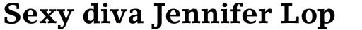 LinoLetter Bold sample