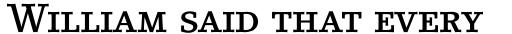 LinoLetter Medium Small Caps & Oldstyle Figures sample