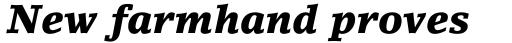 LinoLetter Black Italic Oldstyle Figures sample