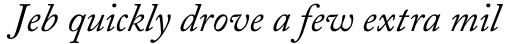 Adobe Caslon Italic Oldstyle Figures sample
