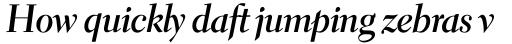 Electra Bold Cursive Display sample