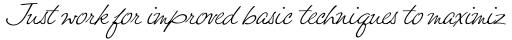 Felicity Script sample