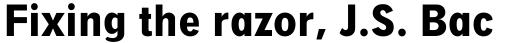 Digi Grotesk Bold Condensed sample