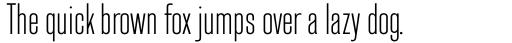 Headline Gothic sample