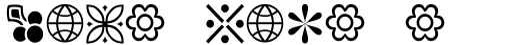 Linotype Decoration Pi 2 sample