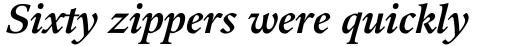 Guardi 76 Bold Italic sample