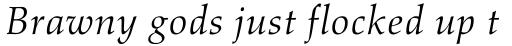 Aldus Italic Oldstyle Figures sample