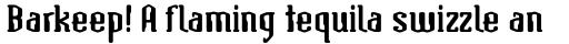 Atomic Serif ICG Bold sample