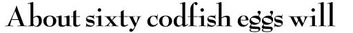 Bernhard Modern ICG Bold sample