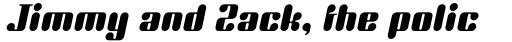 Unite Aparte ICG Italic sample