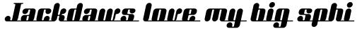 Unite Together ICG Italic sample