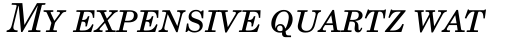 Grad SC OSF Italic sample