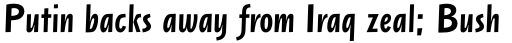 Arta Medium Italic sample