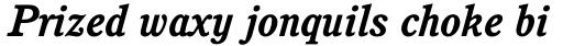 Cushing Bold Italic sample