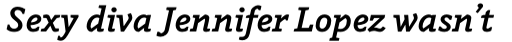 Napoleone Slab Bold Italic sample