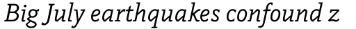 Napoleone Slab Italic sample
