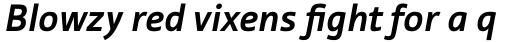 Tabula Bold Italic sample