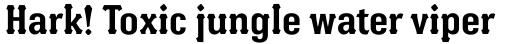 Batak Condensed Bold sample