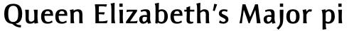 Resavska Sans Medium Bold sample