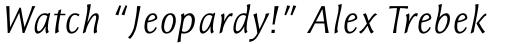 Resavska Sans Light Italic sample