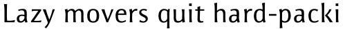 Resavska Sans Medium sample