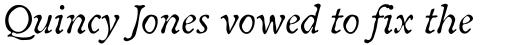 Oldbook Italic sample