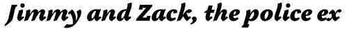 Tactile Ultra OS Italic sample