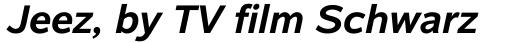 Albany Std Bold Italic sample