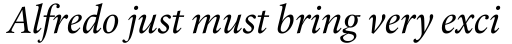 Laurentian Italic OsF sample