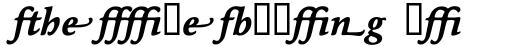 Maxime Bold Italic Alternate sample
