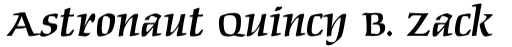 Maidenhead Italic sample