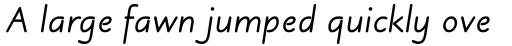 Julius Primary Bold Italic sample