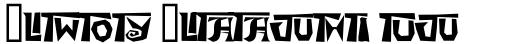 Arty Ligatures sample