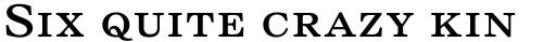 Nimrod Small Ads MT Regular Small Caps sample