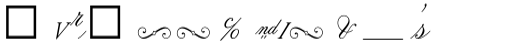 Citadel Script Alt sample