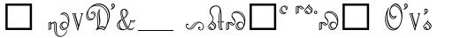 Riviera Script Alt sample