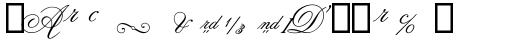 Flemish Script II Alt sample