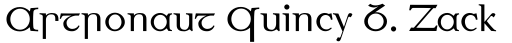 Eirinn Ascii sample