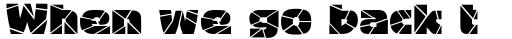 Bigband Terrazzo sample