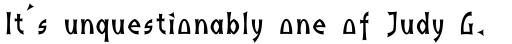 Indus Bold sample