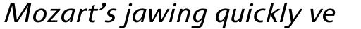 Cisalpin LT Std Italic sample