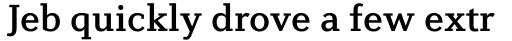 Diverda Serif Medium sample