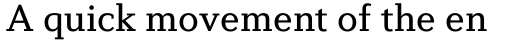 Diverda Serif Regular sample