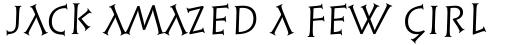 Syntax Lapidar Serif Display Regular sample