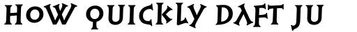 Syntax Lapidar Serif Display Bold sample