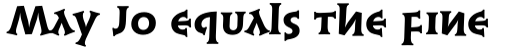 Syntax Lapidar Serif Text Heavy sample
