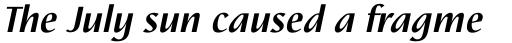 Nautilus Bold Italic sample