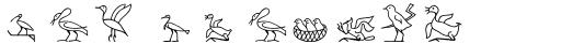 Hyroglyphes Two sample